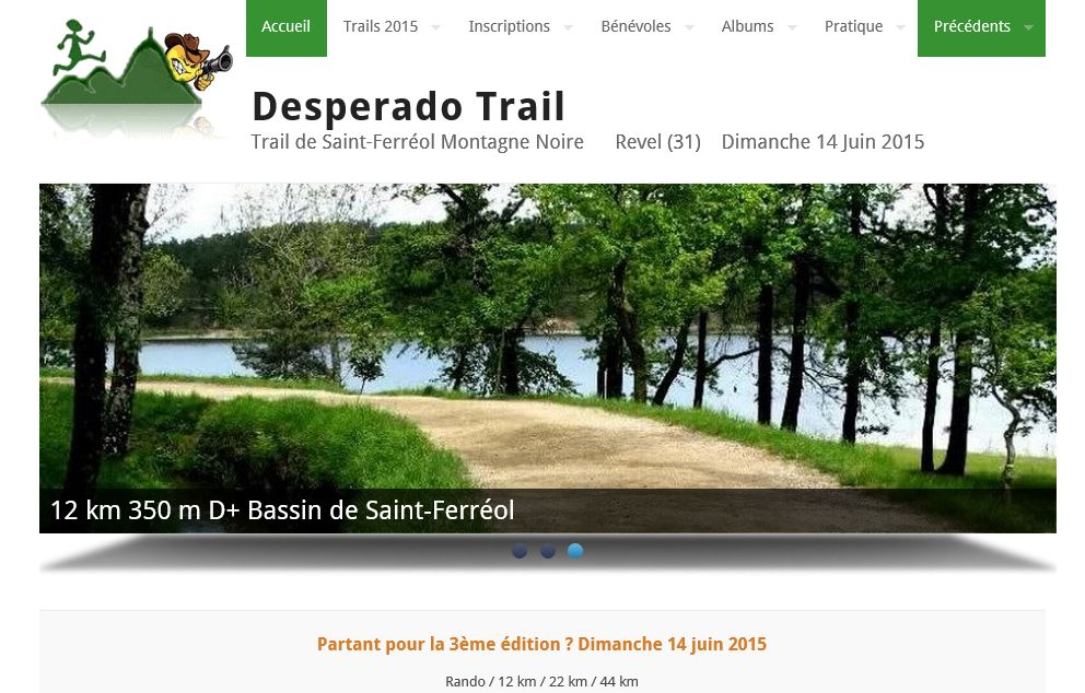 deseperado trail