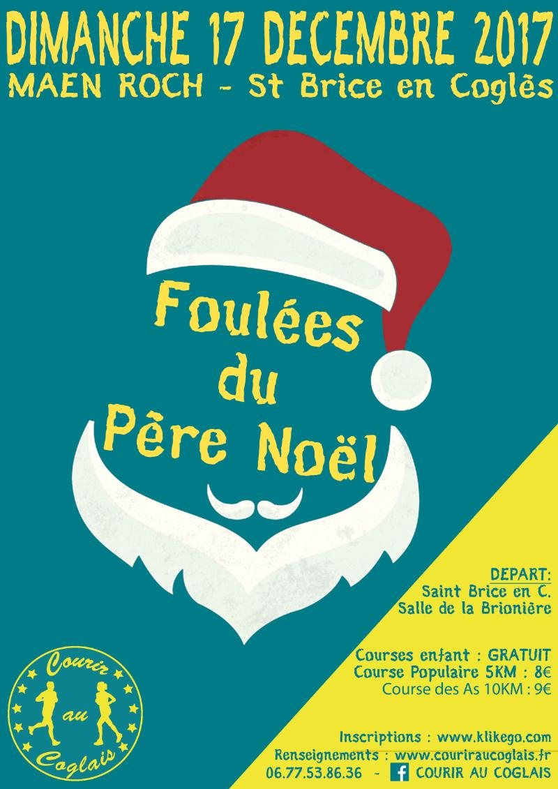 Affiche-Foulees-Pere-Noel-2017