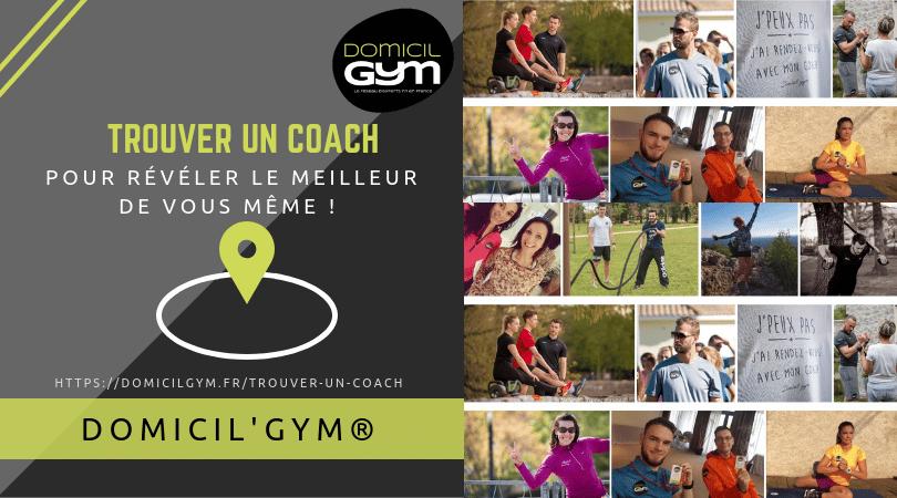 coach sportif forme et santé DOMICIL'GYM