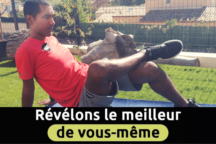 Photo de Gaël Kante. Il est coach sportif DOMICILGYM