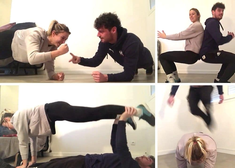 circuit training en couple