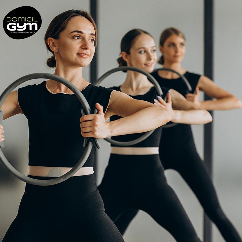 Cours-en-viso-domicylgym - Pilates